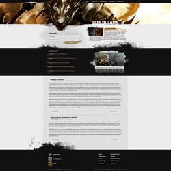 Guild Wars 2 Web Design