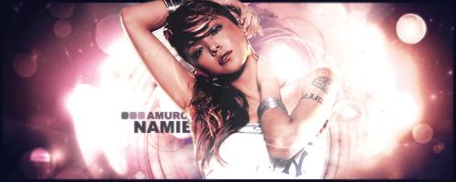 Amuro Namie Signature by zenro45