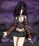Anime Sexy Wiccan Woman