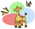 Cartoon Giraffe