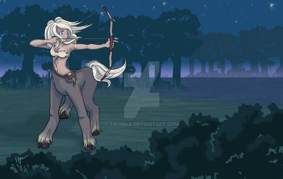 Anime Centaur Archer