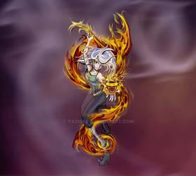 Fantasy Fire Dragon