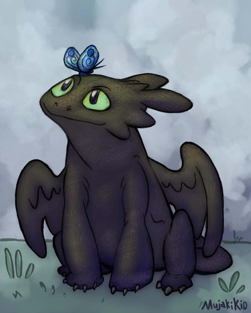 Toothless by MujakiKid