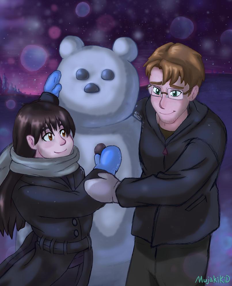 We'll Build A Snowmon by MujakiKid
