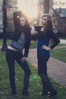 Lovely Ladies in the Park by KirstieeRae