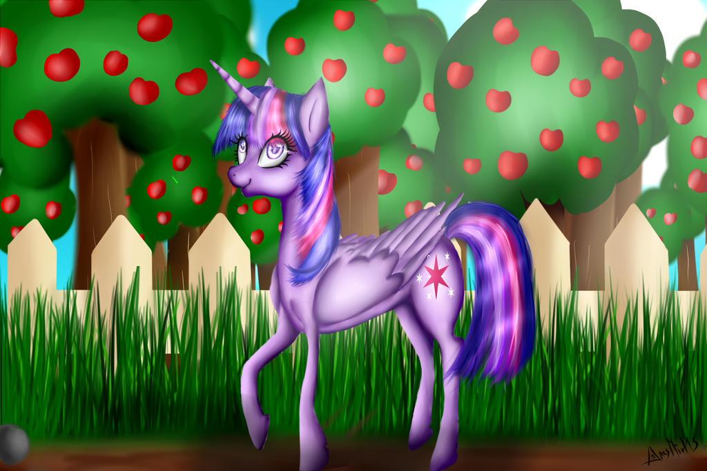 paseo por los manzanos by aresmirl15