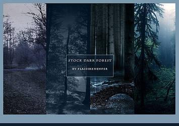 STOCK PACK - Dark forest. by plaisirenenfer