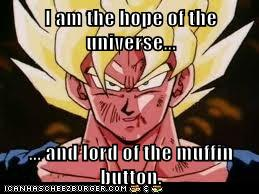 Lord of the Muffin Button by GokuIsTheBomb