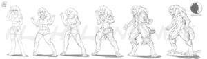 Luna's tf Werewolf Concept