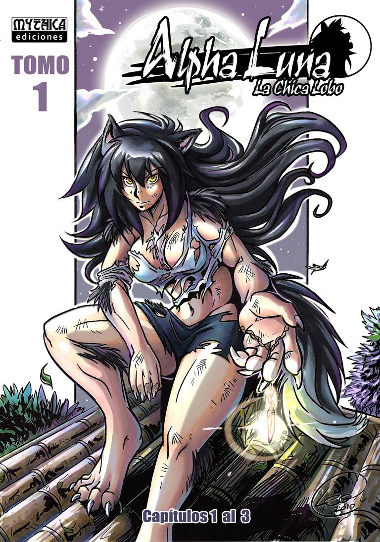 Alpha Luna Tomo 1 - TPB Cover by alfaluna