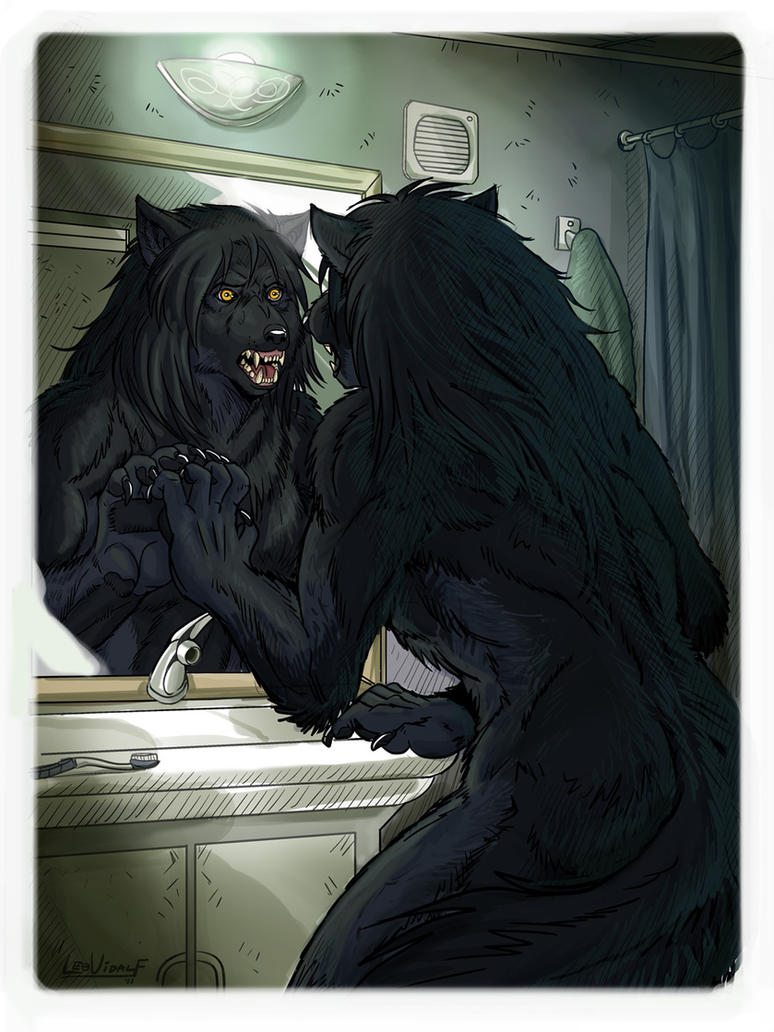 Lycanthrope Club Book I Teaser 1 Colored by alfaluna