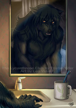 Night Time - The Lycanthrope C Book 2 Illustration