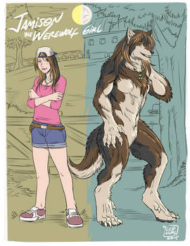 Jamison the Werewolf Girl