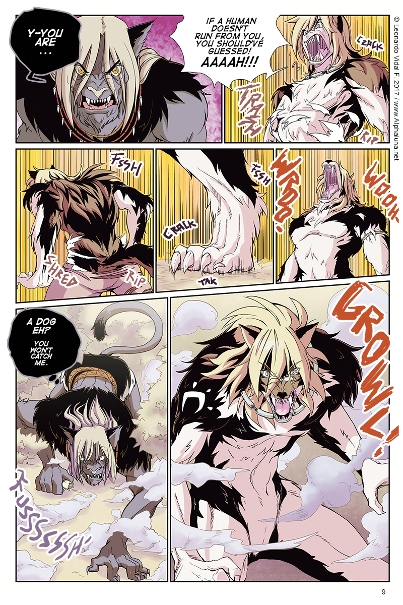 FANG'S JORUNEY (Page 9) Preview Page