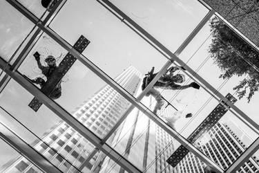 window cleaners by jrockar