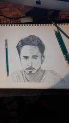 Portrait drawings: robert downy jr by mikepothesis