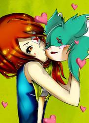 Aemilia Loves Aru by saorilight