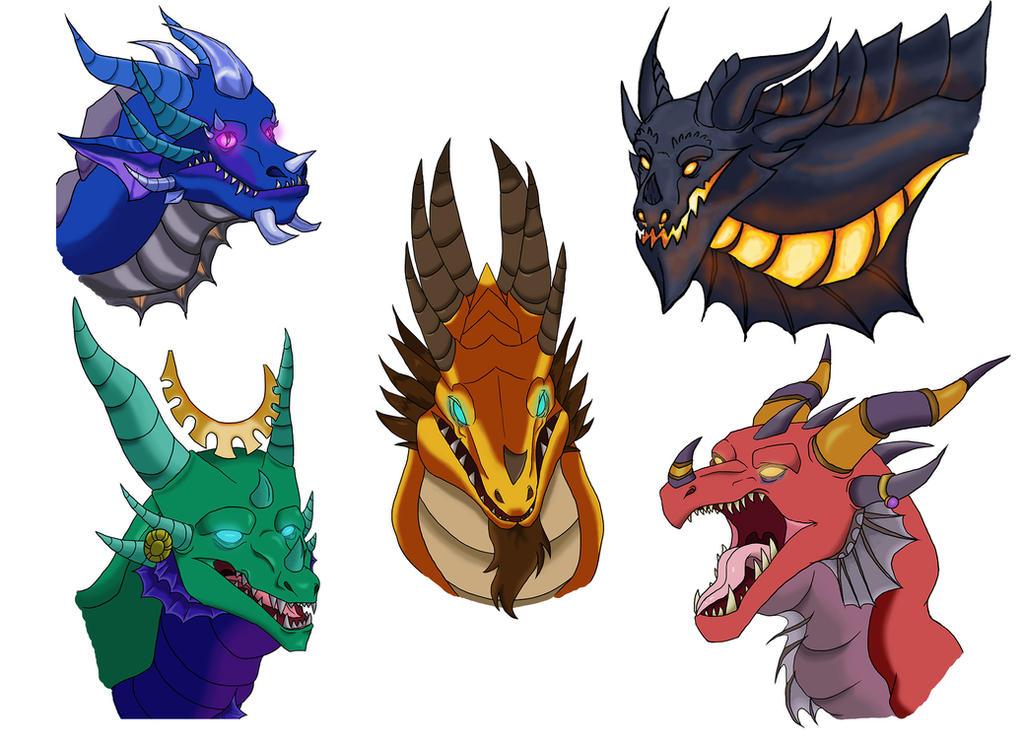 Artistic Aspects : Dragon aspects by tangerinevampire on deviantart