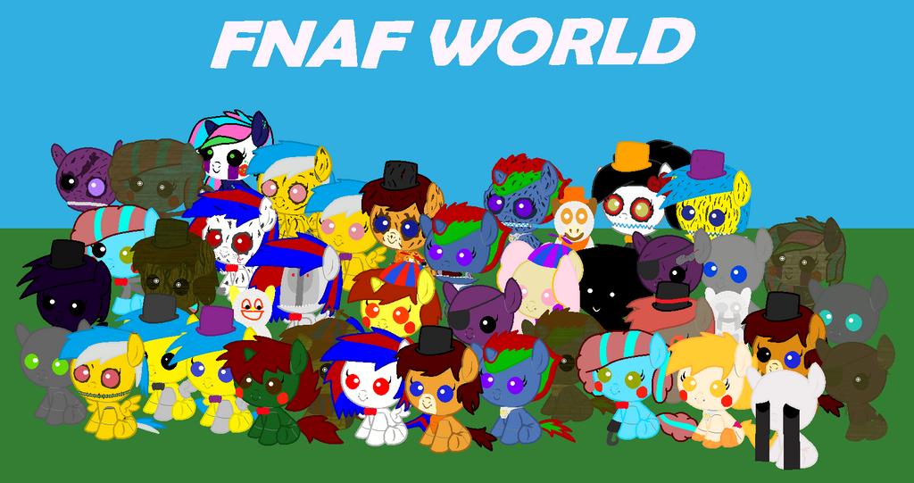 Fnaf world teaser oc version by robot972 on deviantart
