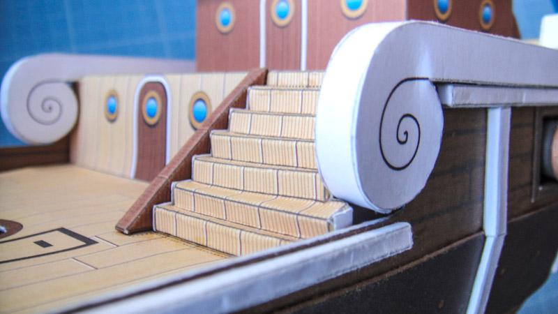 Lisse de Pavois pour la construction du Vogue Merr by KiwiK2010
