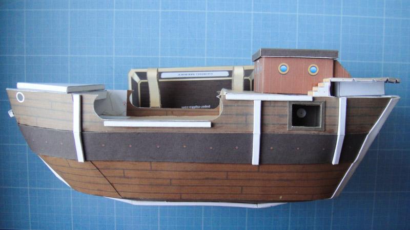 Collage du Pont de Vogue Merry Papercraft One Piec by KiwiK2010