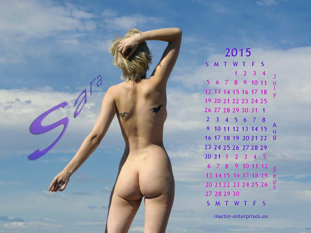 August 2015 calendar by martinrobinson