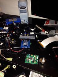 Proton pack Electronics workbench by Toku-Betsu
