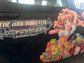 IdolM@ster Cinderella Girls Itasha car 2 by Toku-Betsu