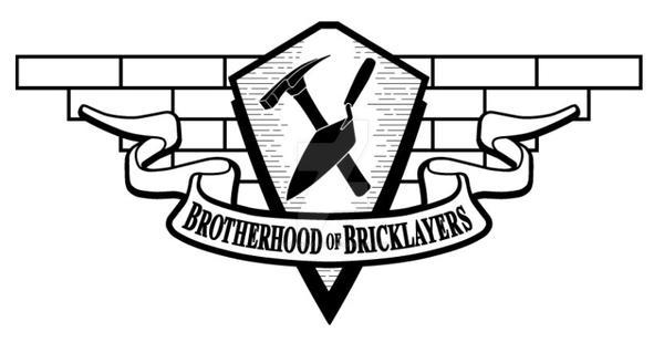 Logo,Brotherhood Of Bricklayers