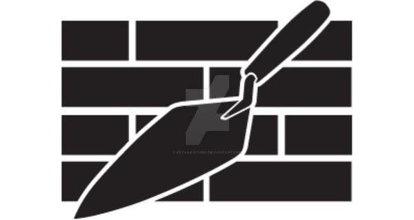 Logo, Bricklayer Trowel