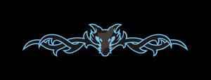 Logo, Wolph Wear Barbed Wire