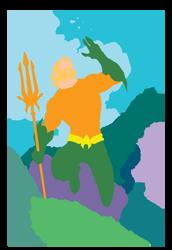 Jim Lee - Aquaman - Flats 2 by KevanG-Studio