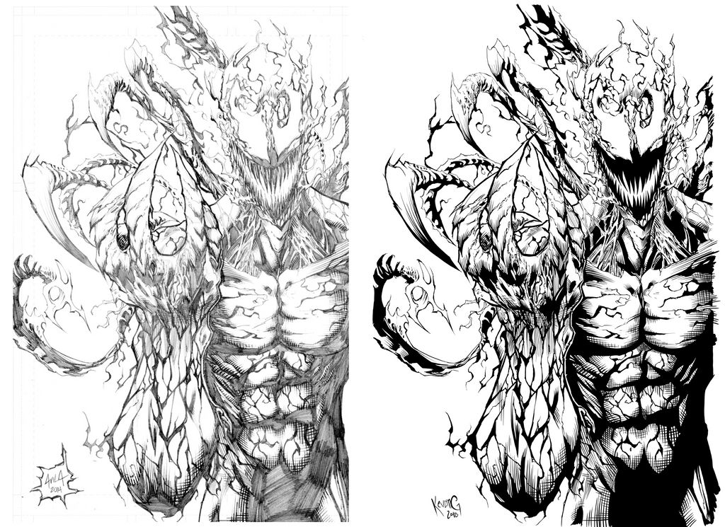 Carnage Inks by KevanG Studio by KevanG-Studio