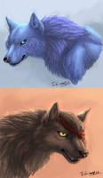 Wingwolf and Barken