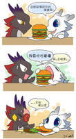 Dragonbro strips 1- Hamburger