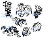 Style practice--Tattoo design