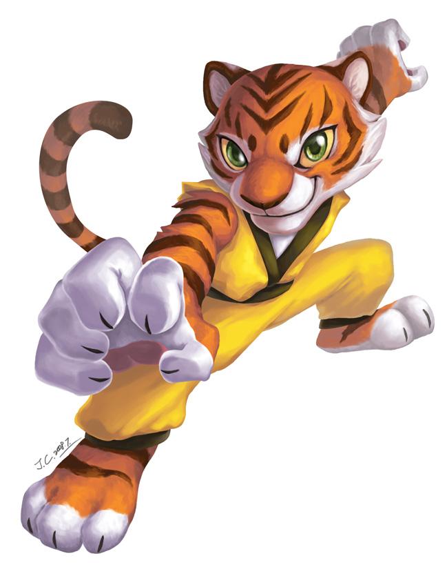 Kung fu panda tiger - photo#14