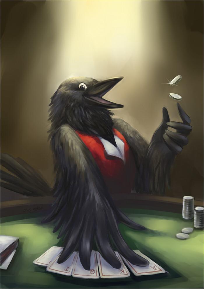 Crow by J-C
