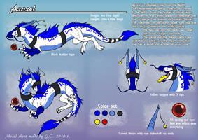 Azazel model sheet by J-C