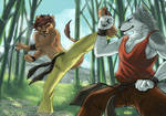 KungFu fighting