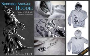 Northern Animals Hoodie by J-C