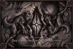 Back cover of The Starry Wolves story book II by J-C