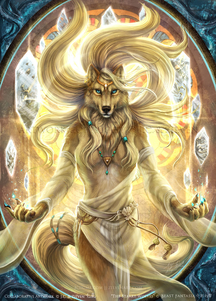 The Starry Wolves - Goddess Venus by J-C