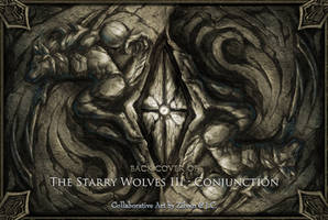 Back cover of The Starry Wolves story book III by J-C