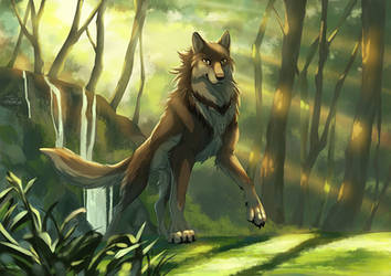 The guardian of woods