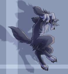 A werewolf by J-C