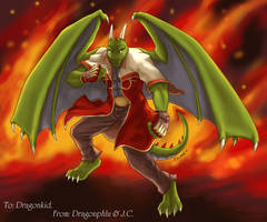 Dragonkid by J-C