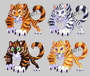 Tiger pet by J-C