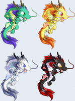 Chinese dragon pet by J-C