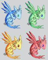 Fancy dragon pet by J-C